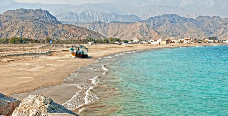 Küste von Fujairah