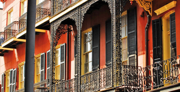 Historisches Gebäude, New Orleans