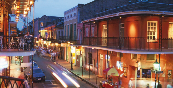 Vielle ville, New Orleans
