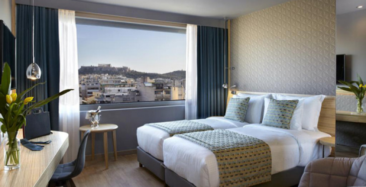 Doppelzimmer Executive - Wyndham Grand Athens