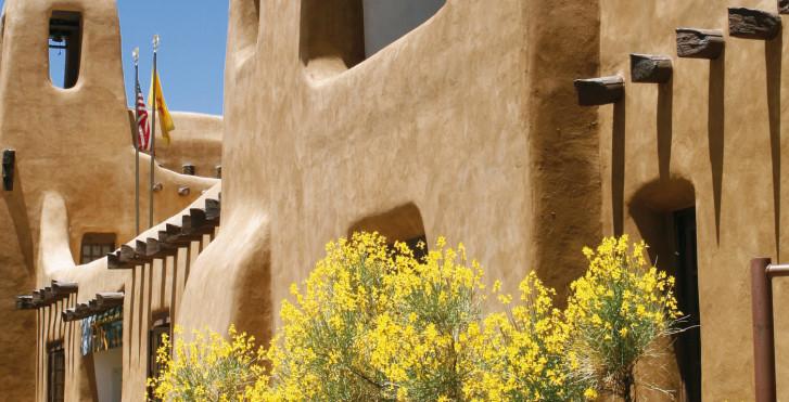 Architektur in Santa Fe