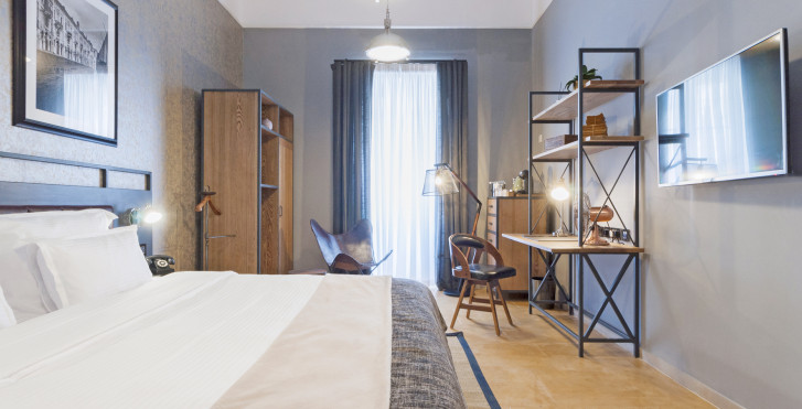 Doppelzimmer Deluxe - The Saint John a Boutique Hotel