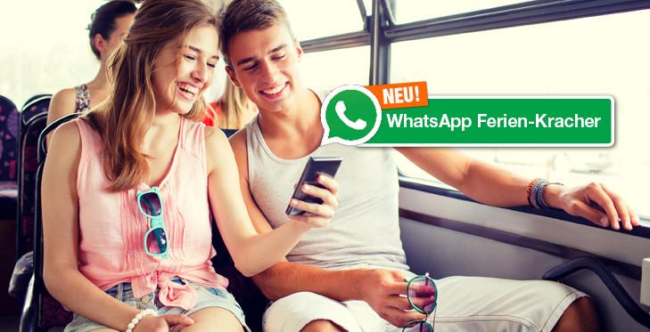WhatsApp Ferien-Kracher!