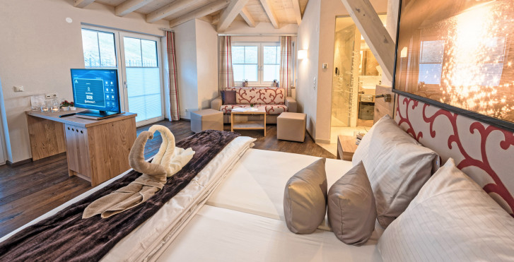 Doppelzimmer Sternenhimmel - Jenny's Schlössl Beauty & Vital-Hotel