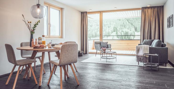 Appartement - Parsenn Resort Davos - Skipauschale
