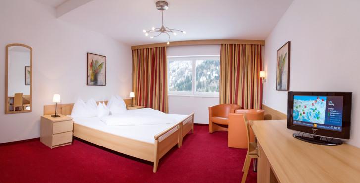 Chambre double - Hotel Karl Schranz