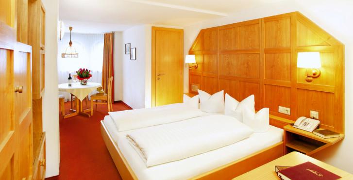 Chambre double - Hôtel Tirolerhof