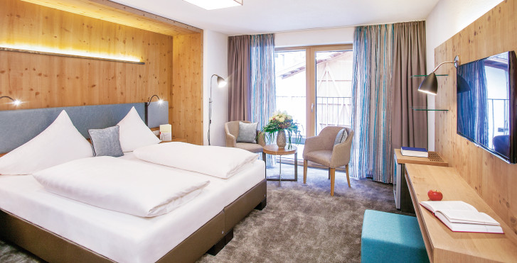 Chambre double - Sporthotel Piz Buin