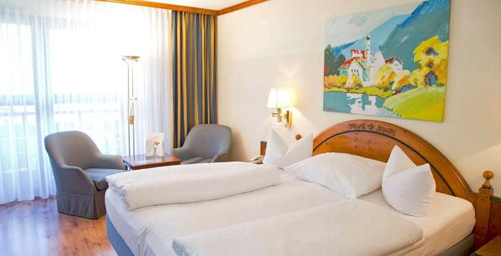 Doppelzimmer - Riessersee Hotel Garmisch-Partenkirchen