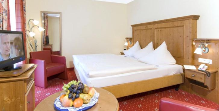 Chambre double Edelweiss - Alpenhotel Kronprinz