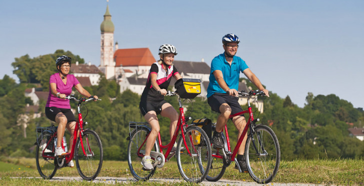 Image 33824485 - Autour des lacs de Munich - Piste cyclable de l'Isar et lacs bavarois