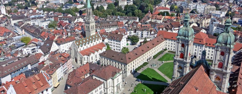 Aussicht auf St. Gallen