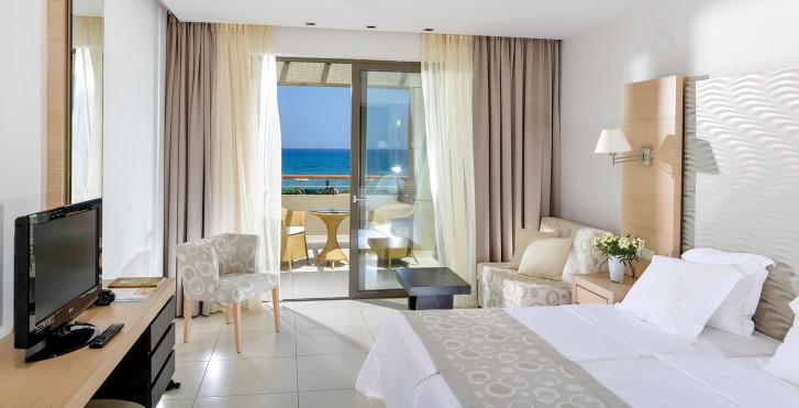 Doppelzimmer Meersicht - Astir Odysseus Kos Resort & Spa