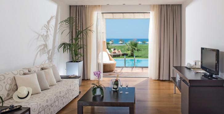 Maisonette mit Gemeinschaftspool, erste Strandreihe - Astir Odysseus Kos Resort & Spa