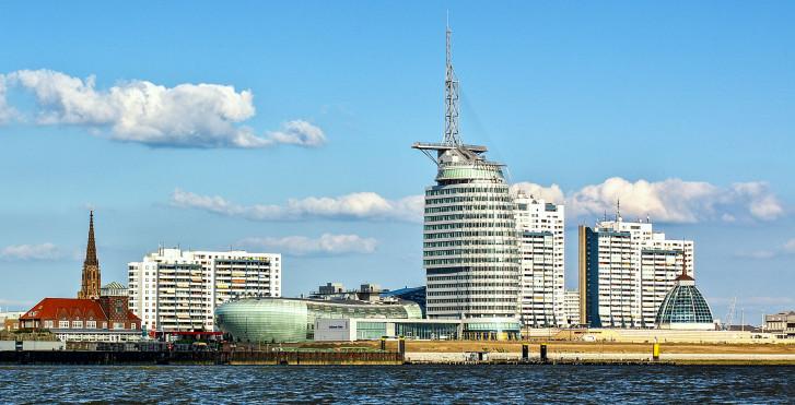 Skyline vom Bremerhaven