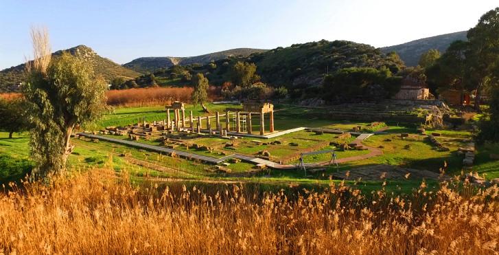 Antike Kultstätte der Artemis
