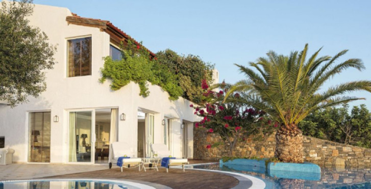 Elounda Gulf 3Bdr Presidential Spa Pool Villa