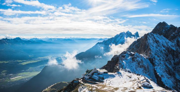 La Hafelekarspitze au nord d'Innsbruck