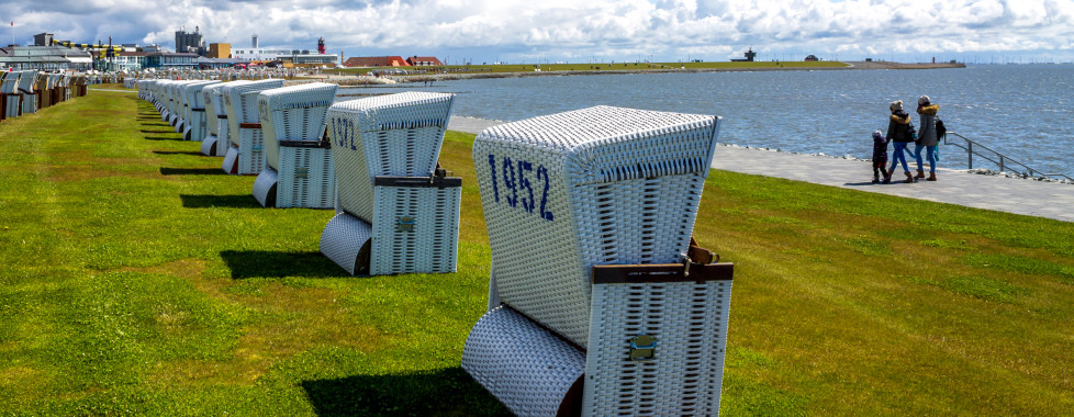 Des chaises de plage à Büsum