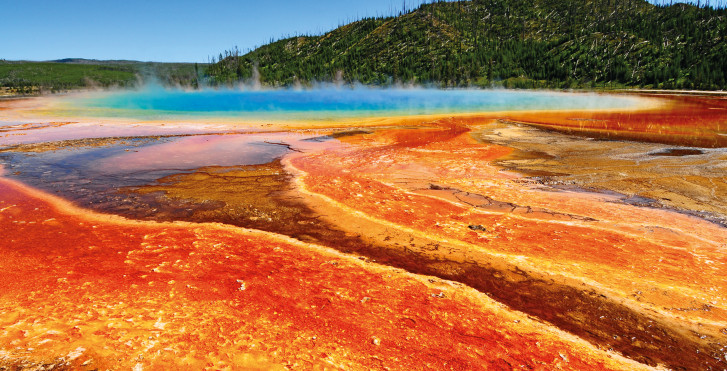 Grand Prismatic Spring, Yellowstone-Nationalpark