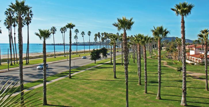 Côte pacifique à Santa Barbara