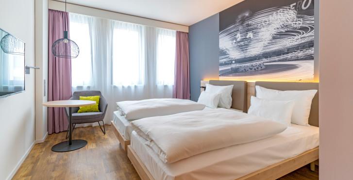 Doppelzimmer - roomz Hotel Wien Prater