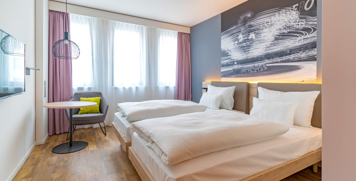 Chambre double - roomz Hotel Wien Prater