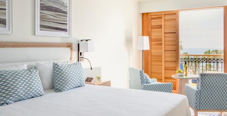 Chambre double avec vue mer - Hôtel Annabelle