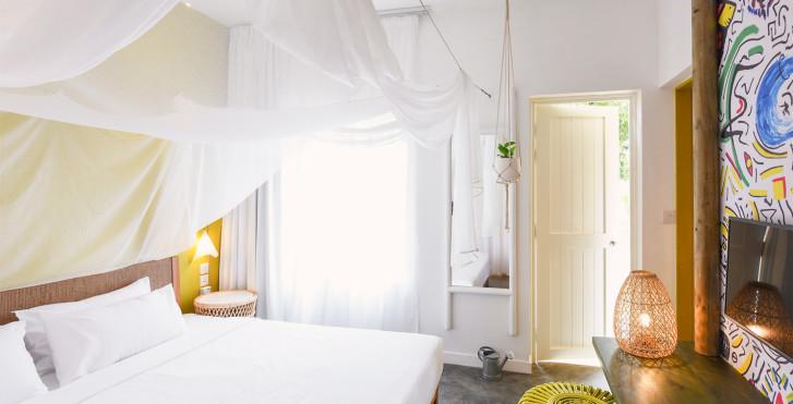 Doppelzimmer Comfort oder Family Unit Zimmer - Veranda Tamarin