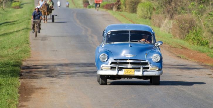 Voiture ancienne, Holguin, Cuba