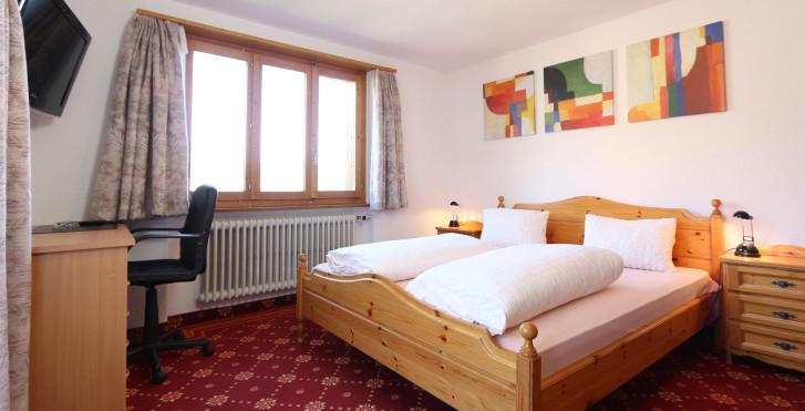 Doppelzimmer - Hotel Alpina