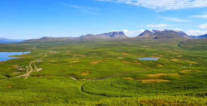 Drei Länder Tour Lappland