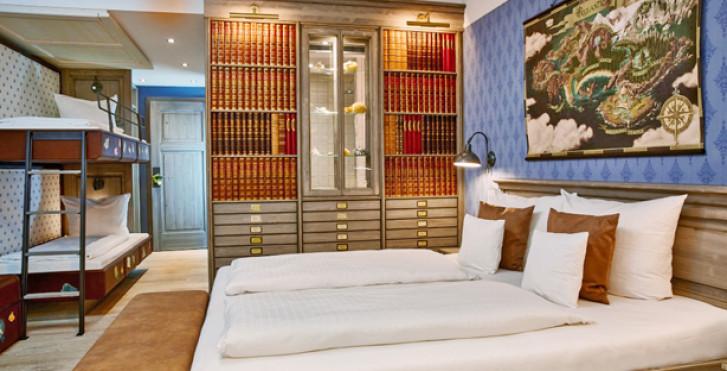 Standardzimmer - Krønasår – The Museum-Hotel - inkl. Eintrittstickets in den Europa-Park