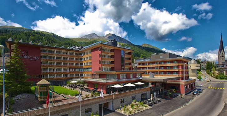 Week-end à VTT,«Hammer Days» au Grischa DAS Hotel Davos