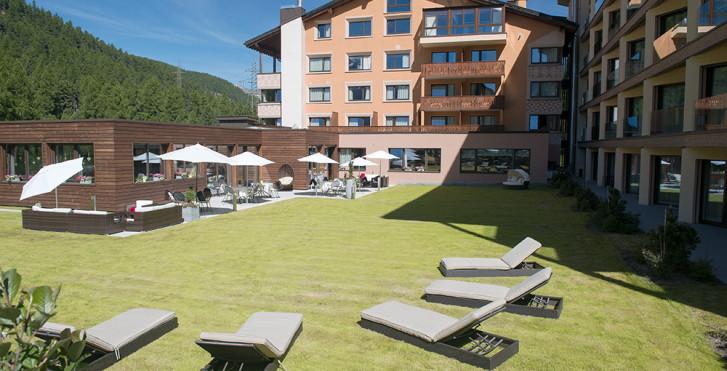 Week-end à VTT,«Hammer Days» graubündenBIKE, hôtel Palü