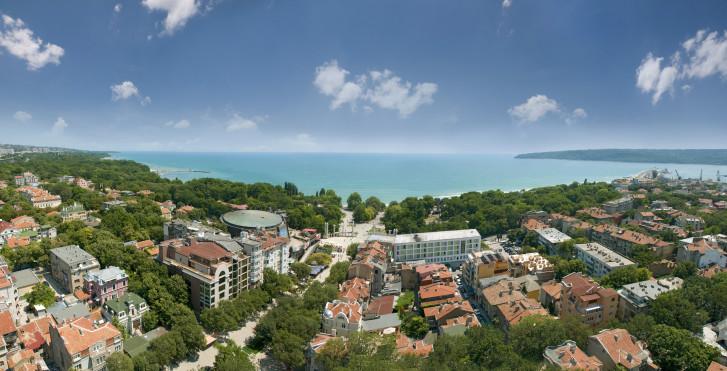 Vue panoramique sur Varna