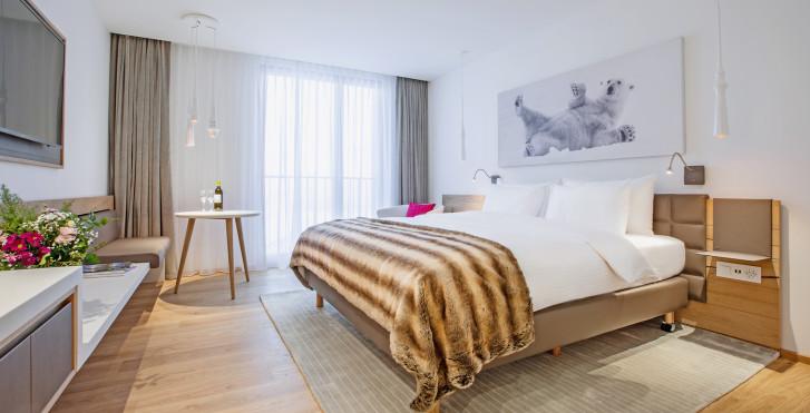 Chambre double - Radisson Blu Hotel Reussen, Andermatt, forfait ski