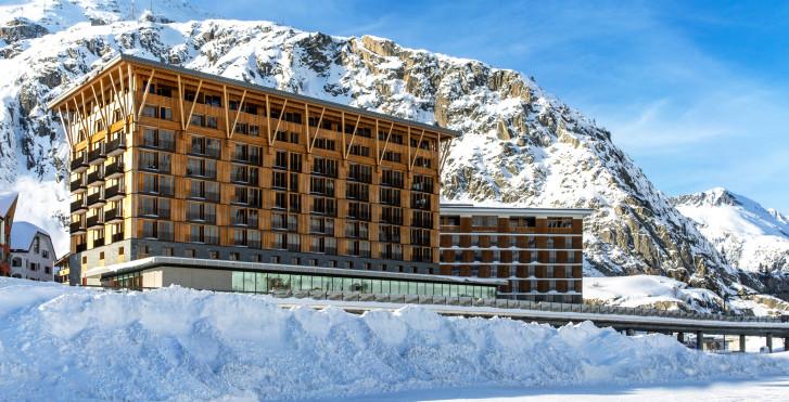 Radisson Blu Hotel Reussen, Andermatt, forfait ski