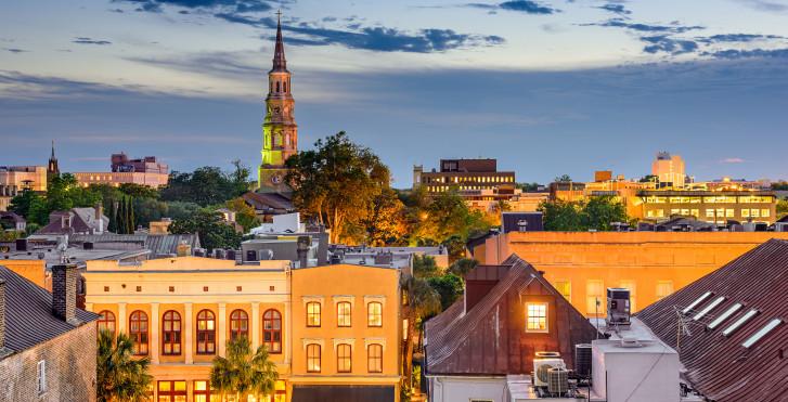Charleston von oben
