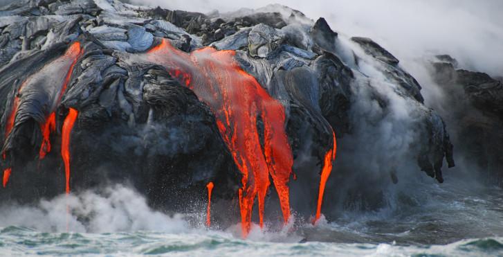 Vulkan auf Big Island, Hawaii