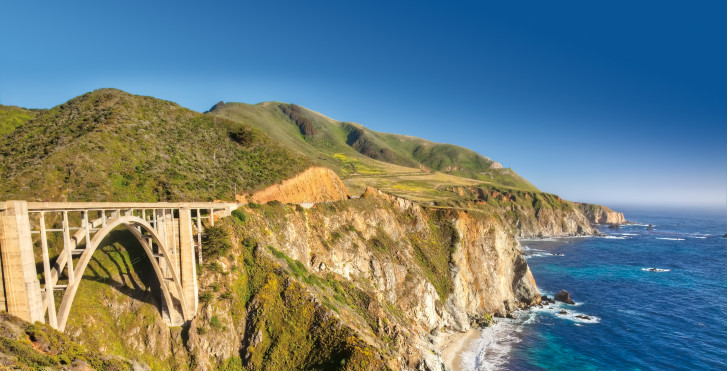 Bixby Creek Bridge, Monterey