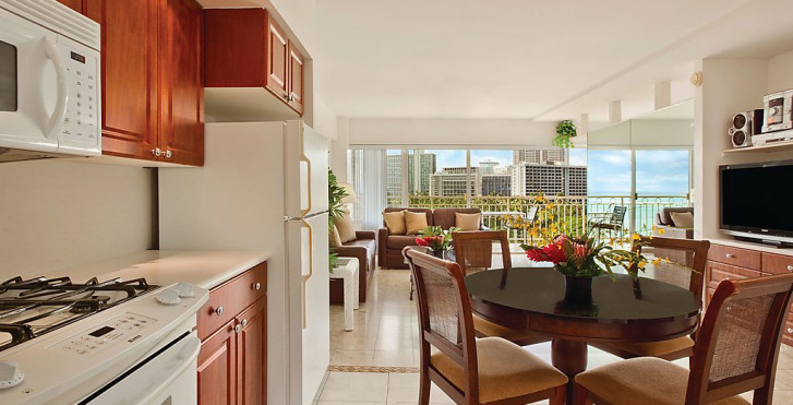 Appartement Outrigger Waikiki Shore 1
