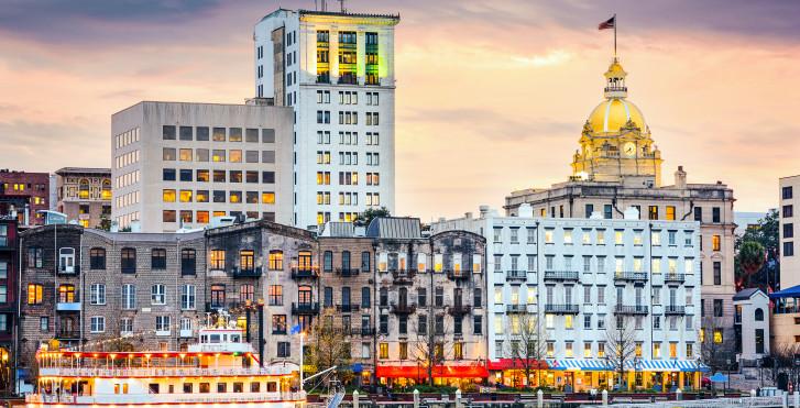 Skyline von Savannah