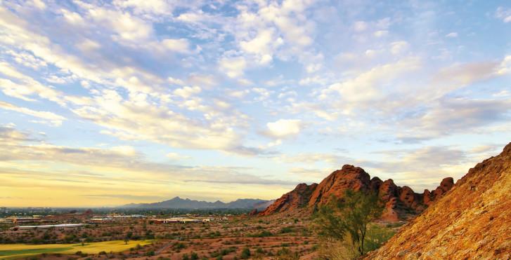 Landschaft bei Scottsdale