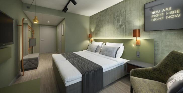 Zimmer - Scandic Continental