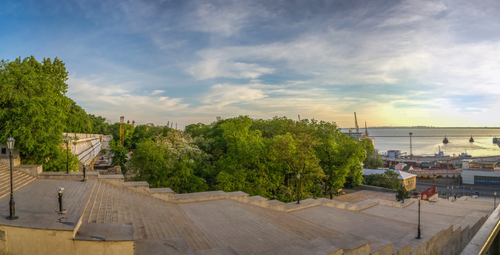 Escalier du Potemkine à Odessa