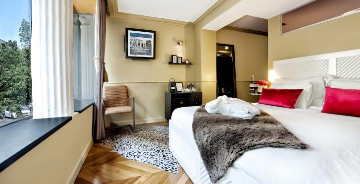 chambres - Montefiore 16 - Urban Boutique Hotel