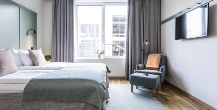 Zimmer - Biz Apartment Hammarby Sjöstad