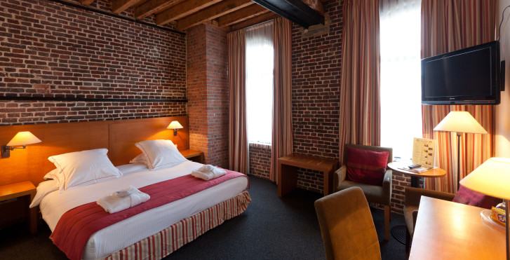 Chambre double Deluxe - Ghent River Hotel