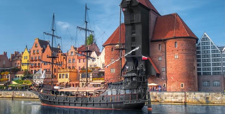 Mittelalterlicher Hafen